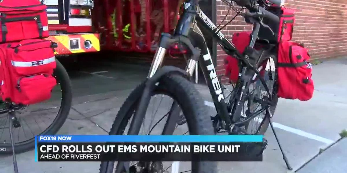 CFD rolls out EMS Mountain Bike Unit