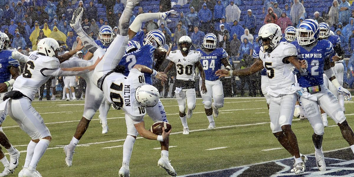 No. 10 UCF rally for 31-30 comeback victory over Memphis 1c45f267d