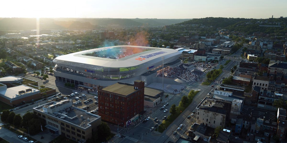 FC Cincinnati reveals details about garage, future developments around stadium