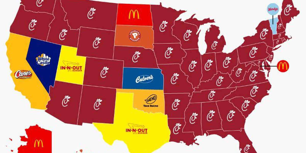 Is Chick-fil-A Ohio and America's top spot for fast food? Not so fast