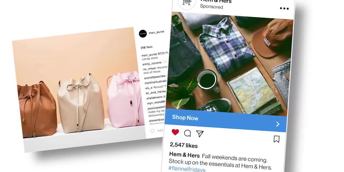 Scammers targeting people on Instagram, other social sites