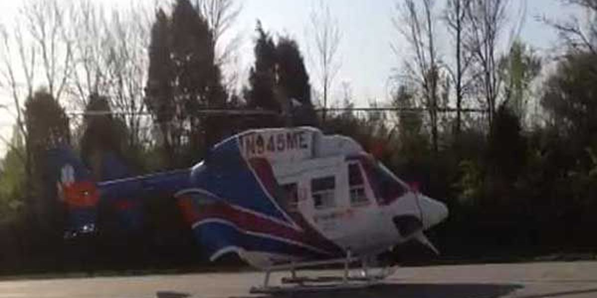 Two medical helicopters respond to crash that closed SB I-71 in Gallatin County