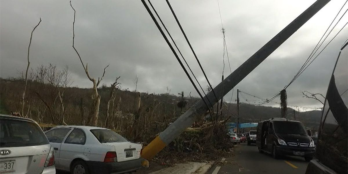 Puerto Rico getting funds for power grid 3 years after Hurricane Maria