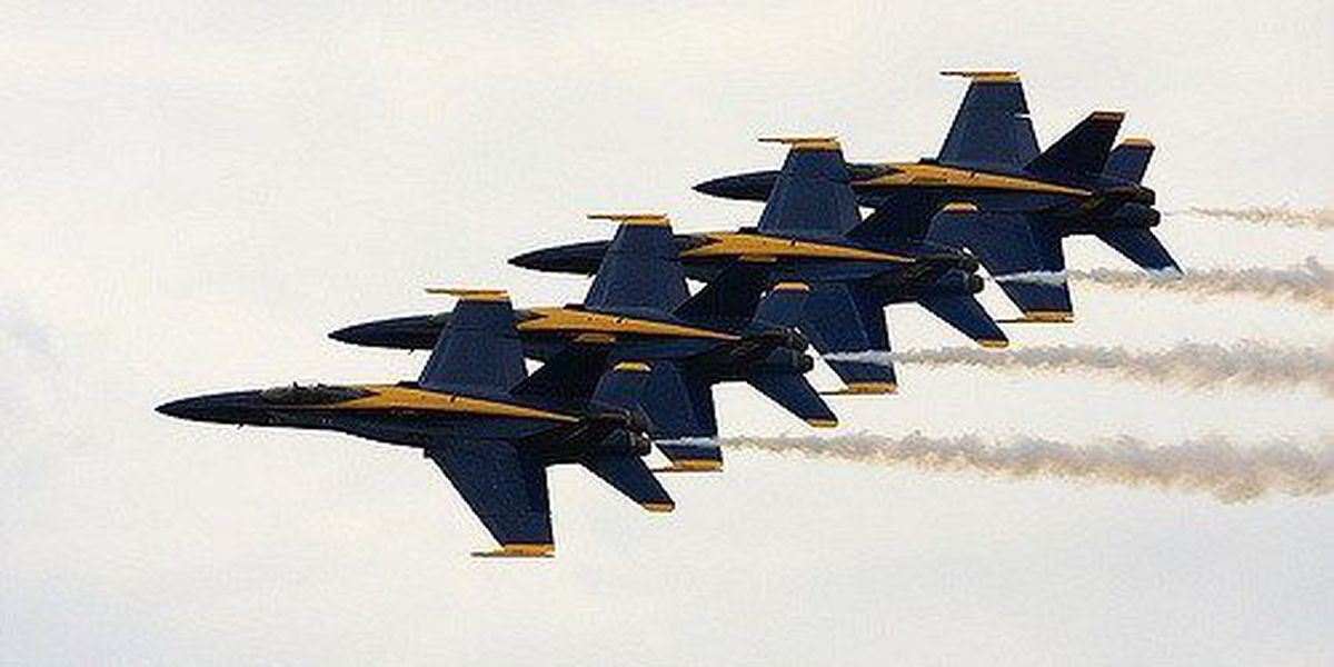 Blue Angels cancel Dayton air show appearance