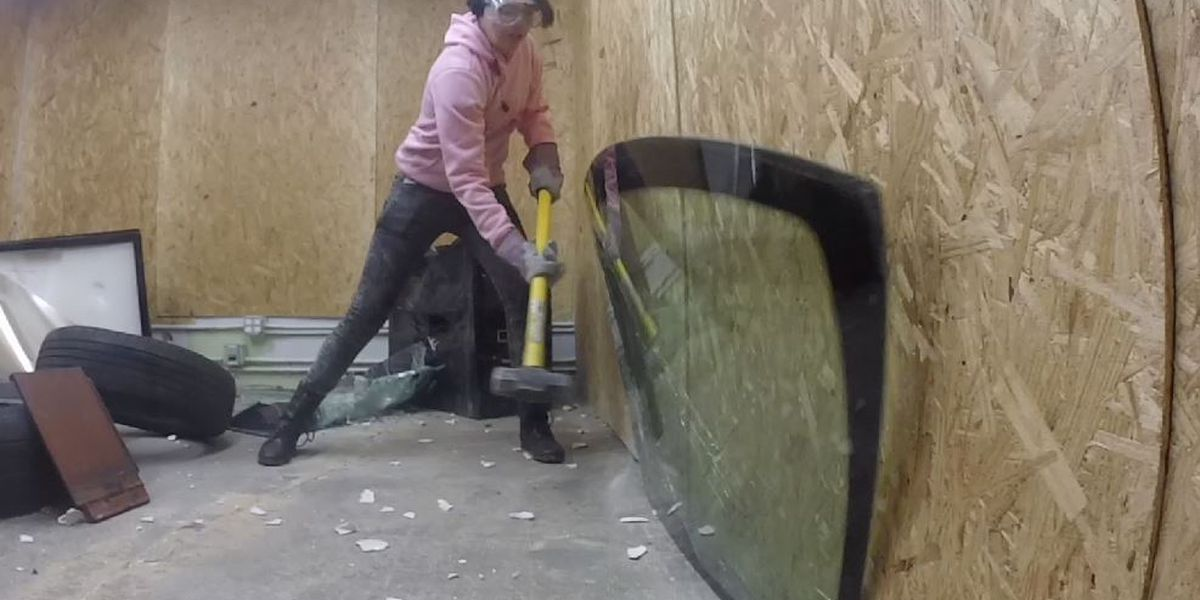 Ohio's first Rage Room lets you go full 'Office Space' on electronics with a sledgehammer in Parma