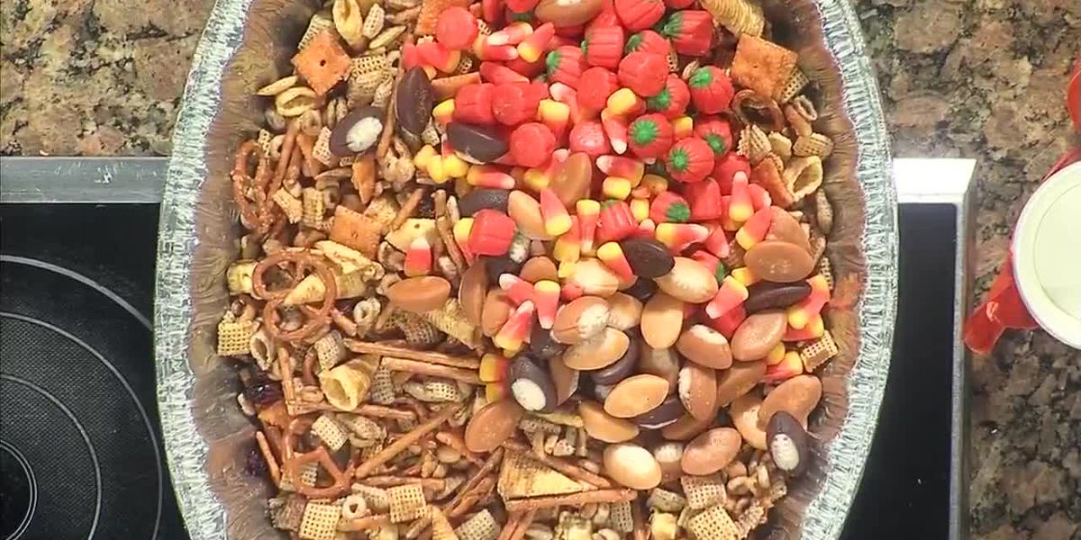 A Delicious Harvest Snack Mix!