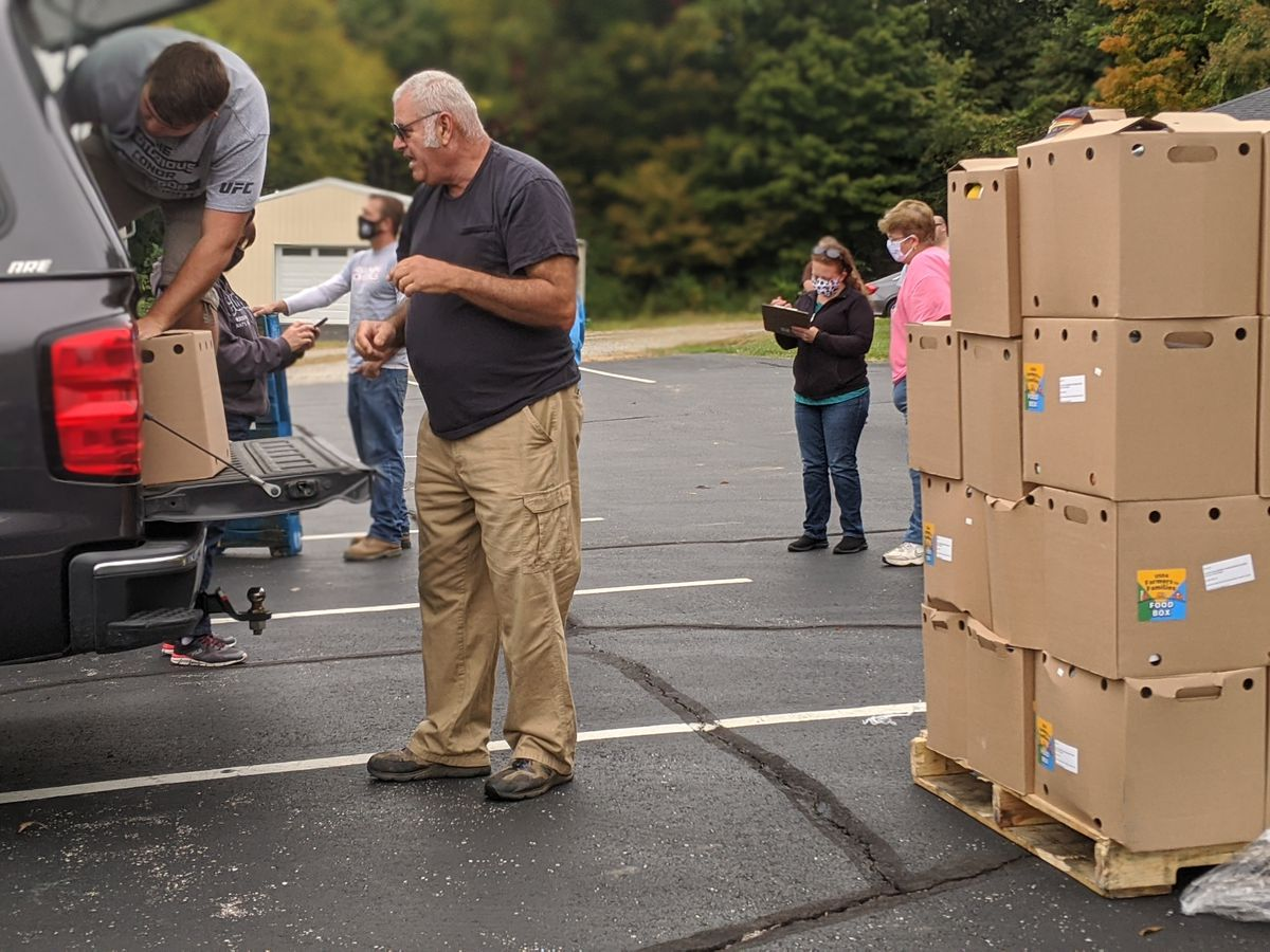 Clermont Co. free food distribution event helping families in need