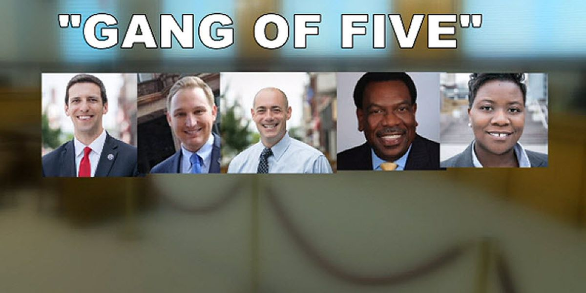 Gang of Five: Some text messages destroyed, attorney says