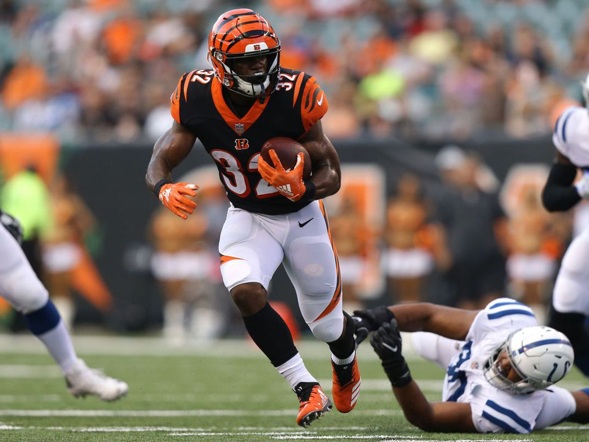 Report: Bengals backup RB arrested on misdemeanor charge
