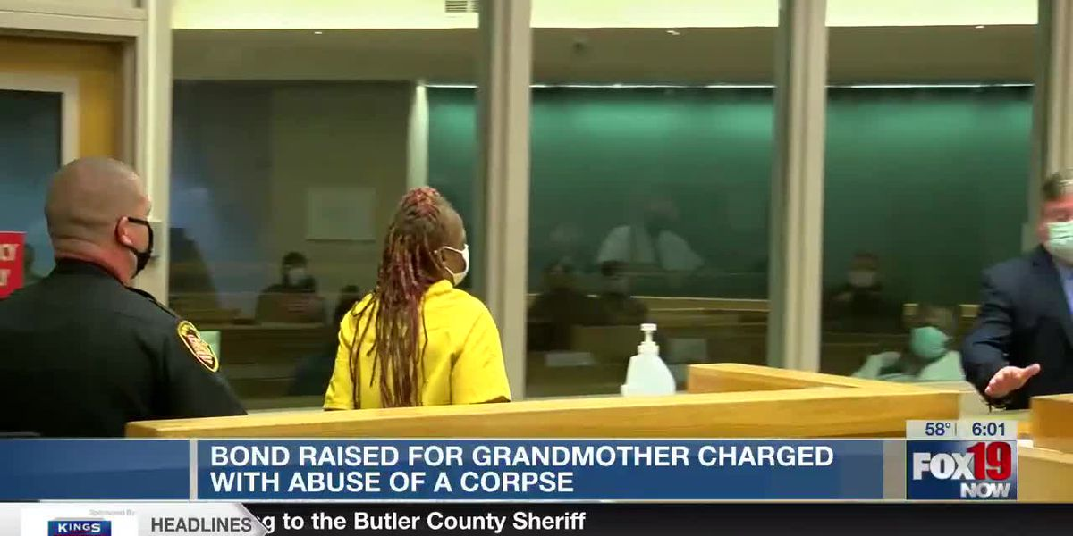 Bond set at $500K for woman charged with abusing granddaughter's corpse