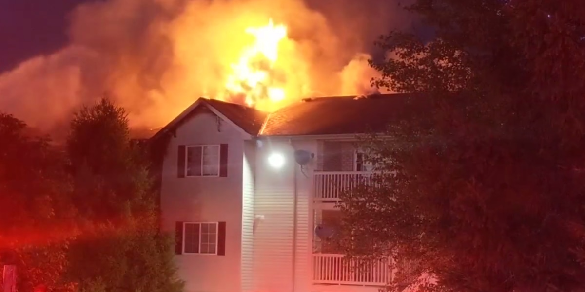 Several apartments damaged in Green Township fire