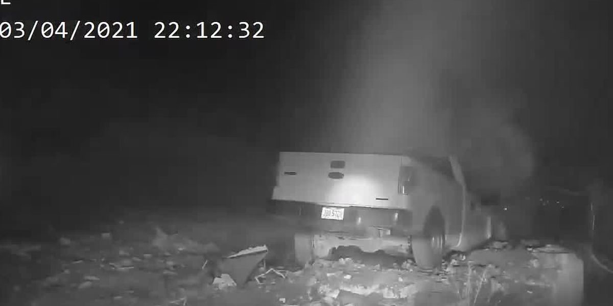 WATCH: Police chase through Warren County ends in fiery crash