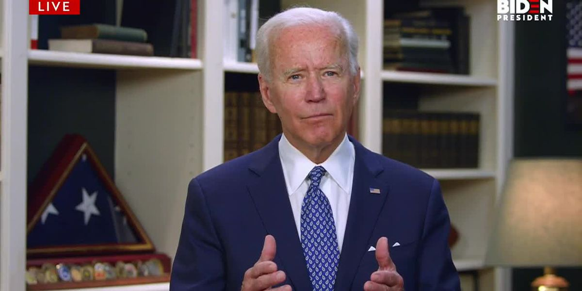 'We are a country with an open wound:' Biden speaks out about George Floyd's death