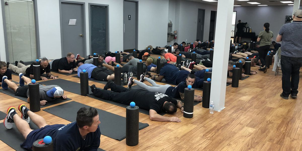 Cincinnati firefighters participate in wellness workshop