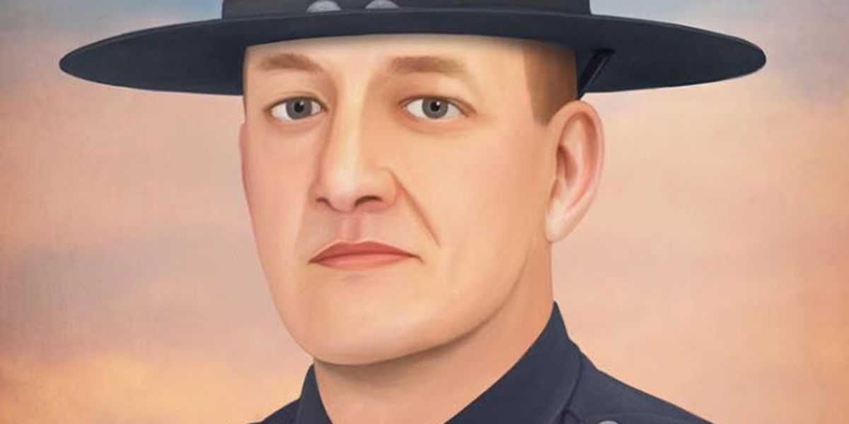 Artist Honors Fallen Colerain Police Officer Dale Woods