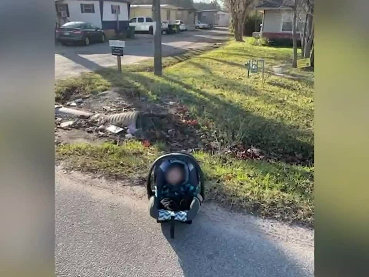 Amazon driver finds baby abandoned on roadside after Houston carjacking