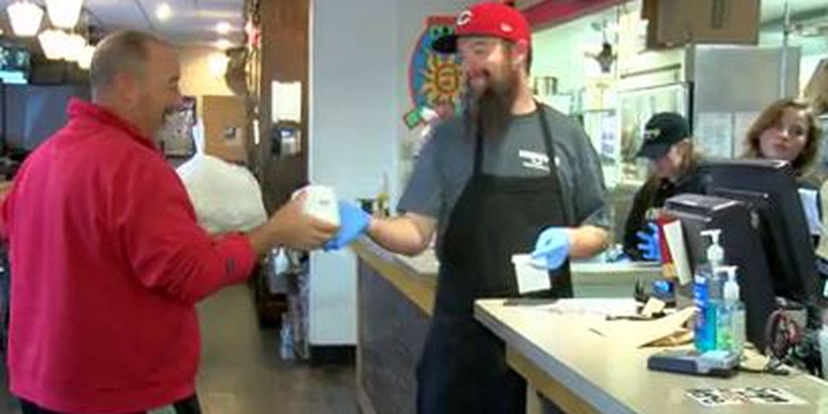 Anderson pizza parlor giving TP to carryout customers