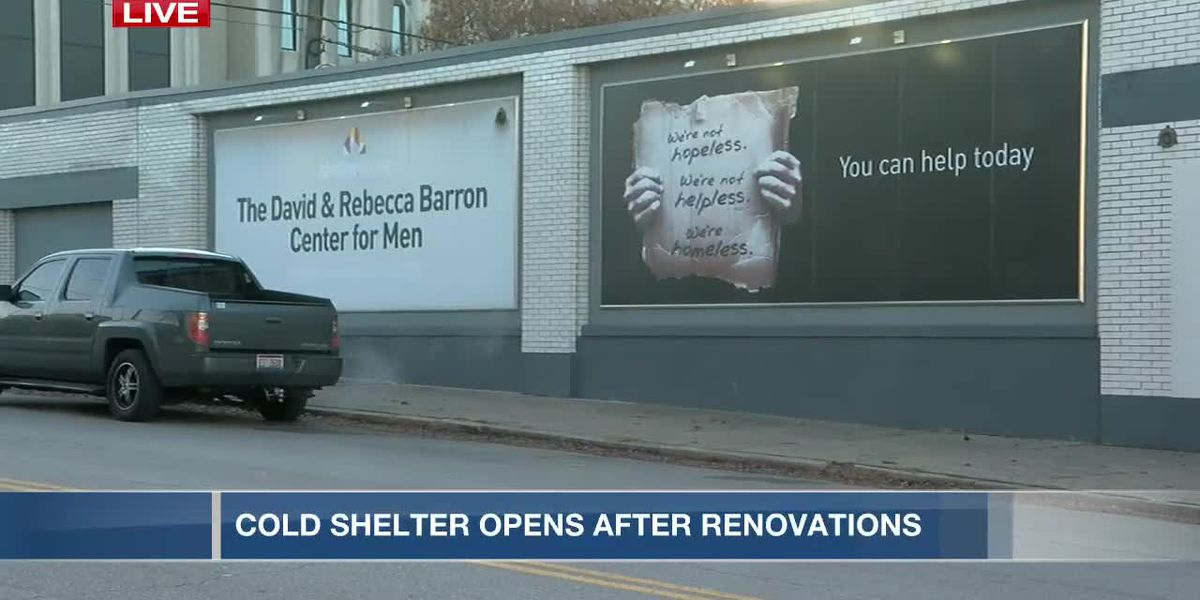 Cold shelter opens after renovations
