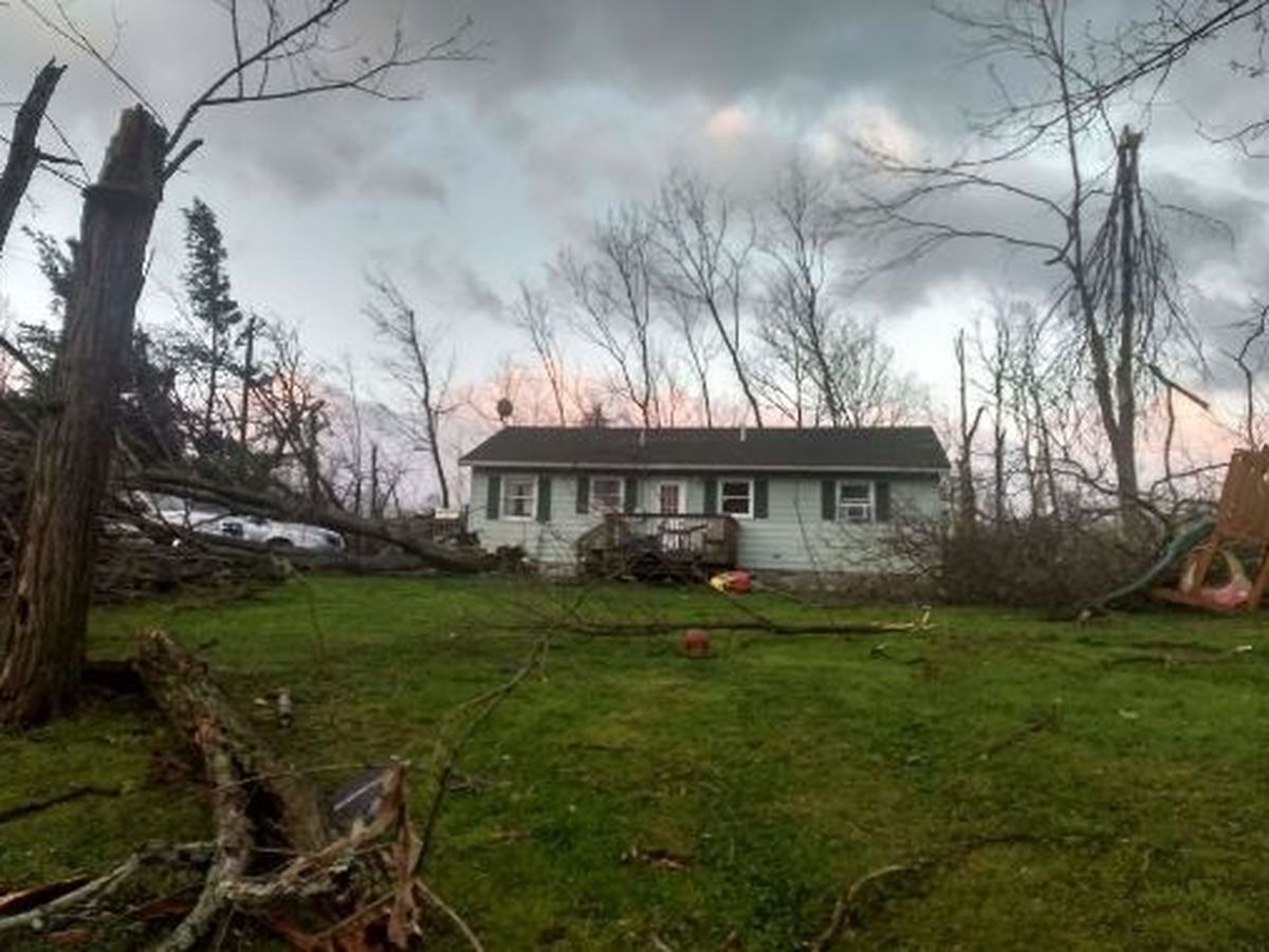 Intense storms Wednesday spawned 1 tornado in Brown County, weather service says
