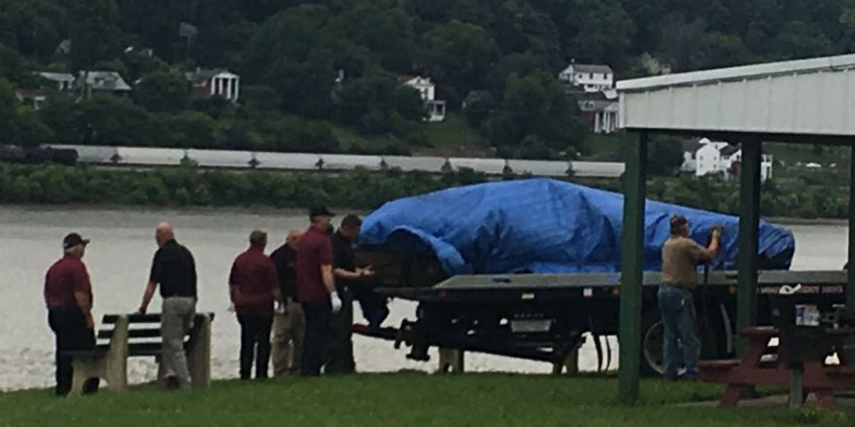Vehicle pulled from Ohio River with human remains inside registered to man missing since 2006