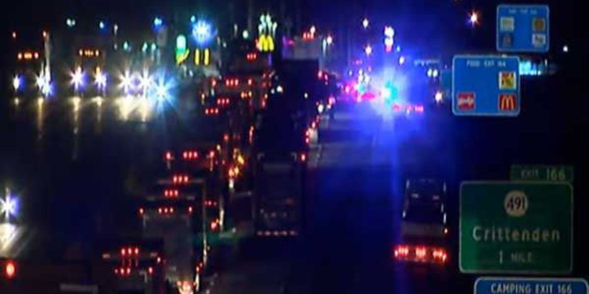 Multiple helicopters respond to I-75 crash; 3 in critical condition