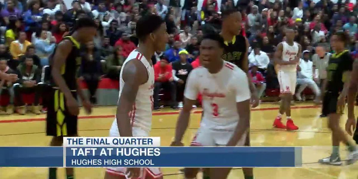 Hughes holds off Taft in wild game
