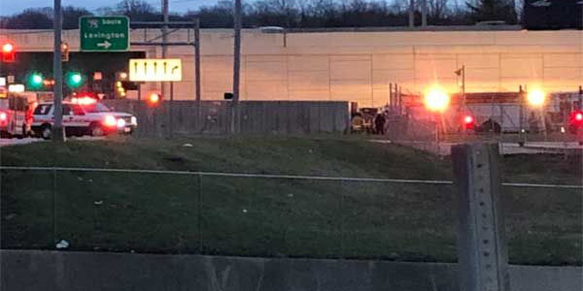 Mitchell Avenue ramps reopens to SB I-75 after semi overturns