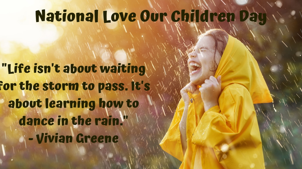 COMMENTARY: What a time to celebrate National Love Our Children Day