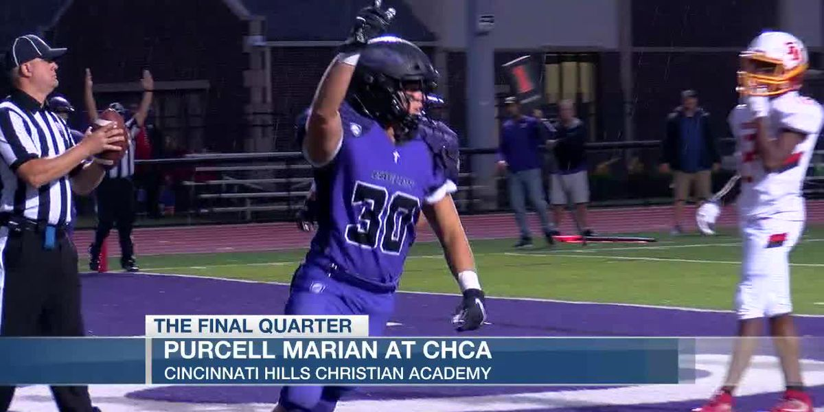 CHCA blanks Purcell Marian