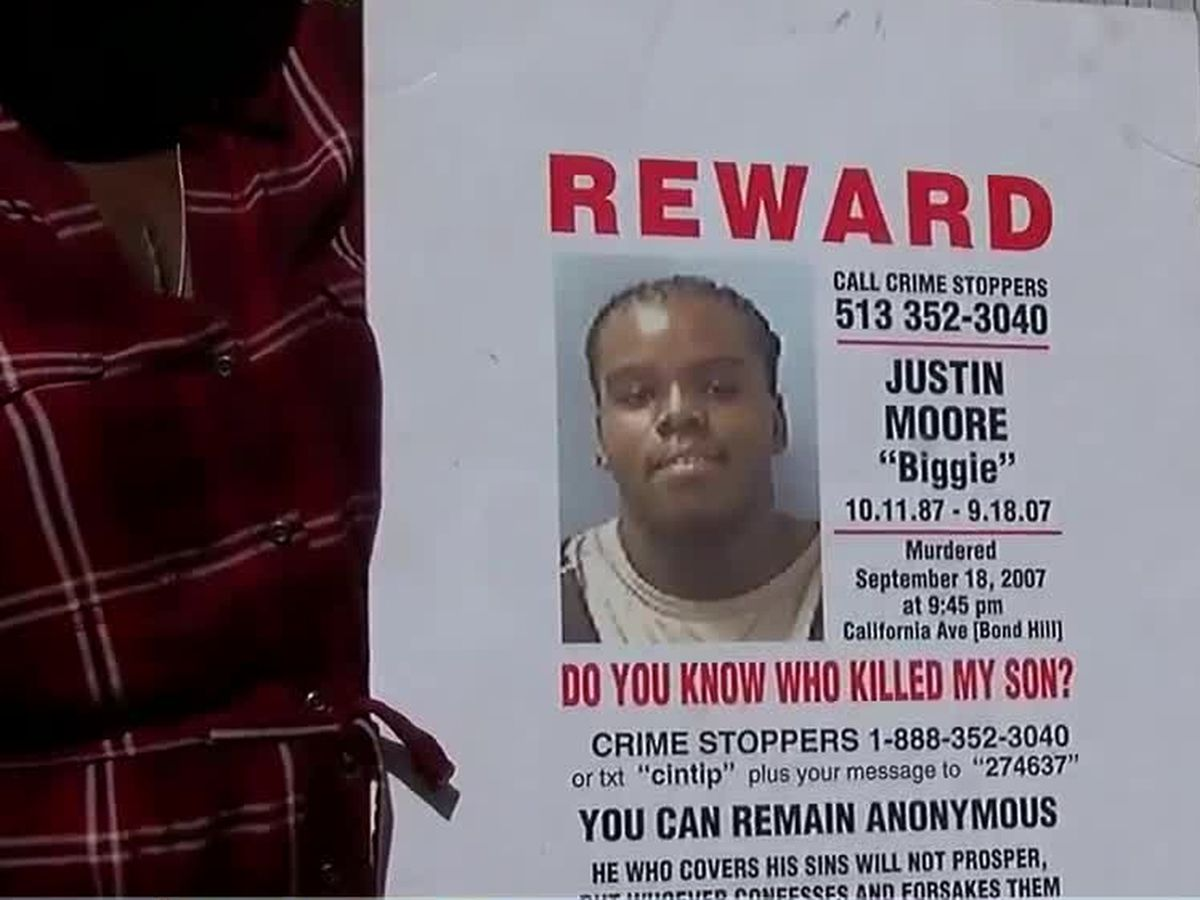Mother sends message to her son's murderer as case remains unsolved