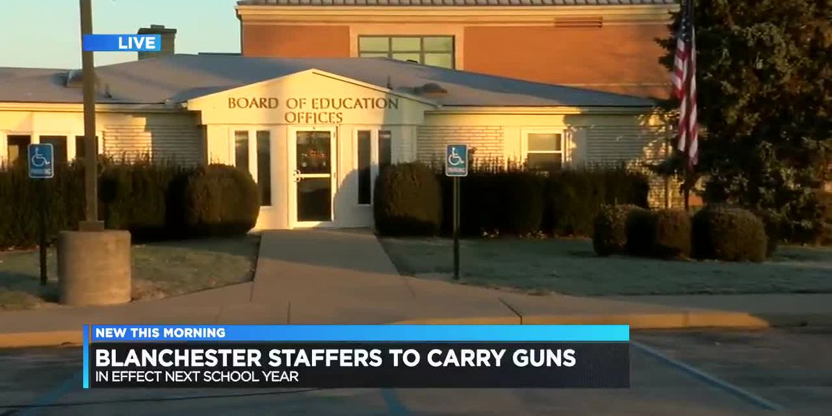 Blanchester staffers to carry guns