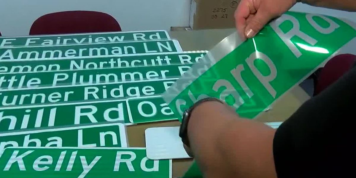 $1,000 reward offered to catch Pendleton County street sign thieves