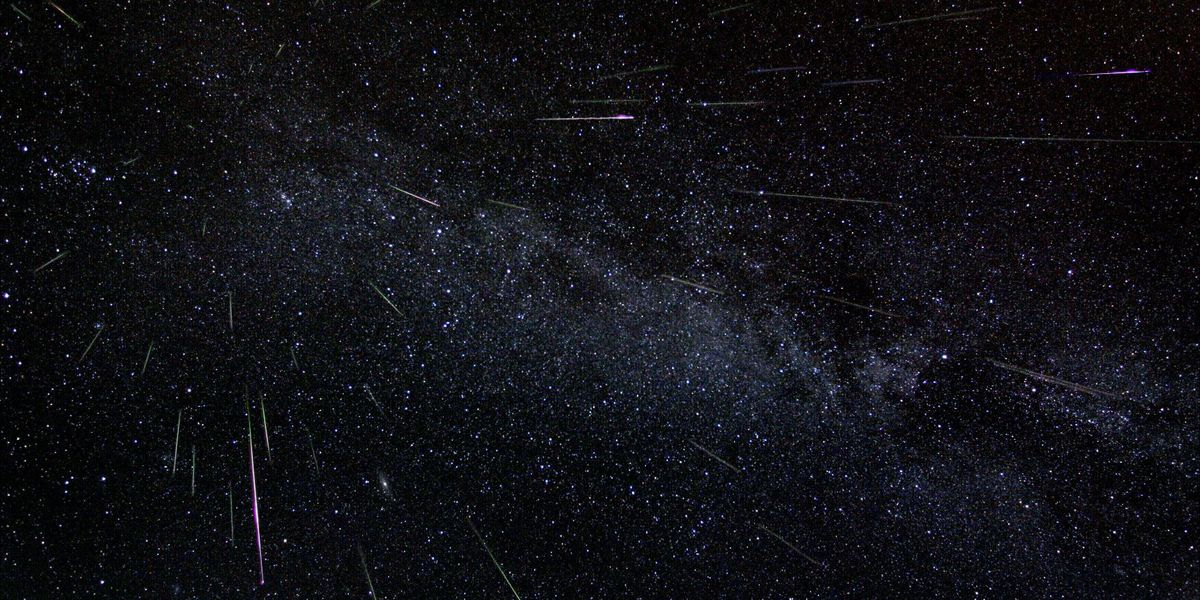 Two meteor showers next week? Up to 25 meteors per hour?
