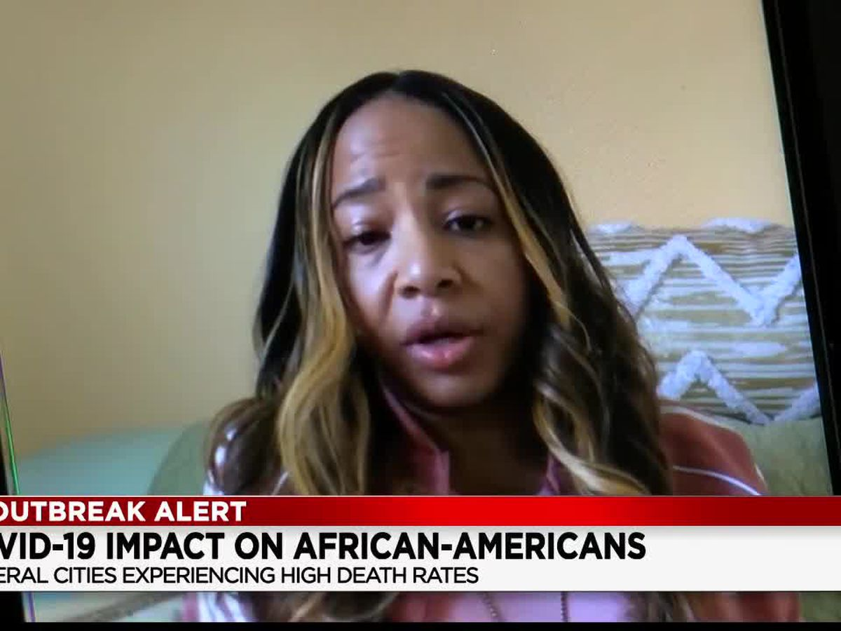 Cleveland nurse hoping to educate African-Americans on alarming racial disparities with COVID-19 deaths