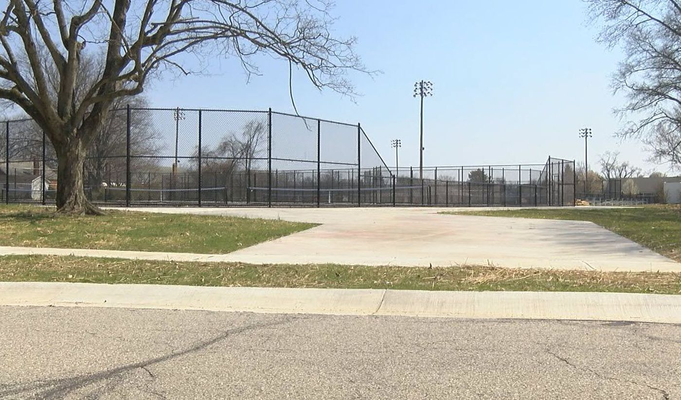 kyle plush was parked near the tennis courts adjacent to the seven hills schools campus