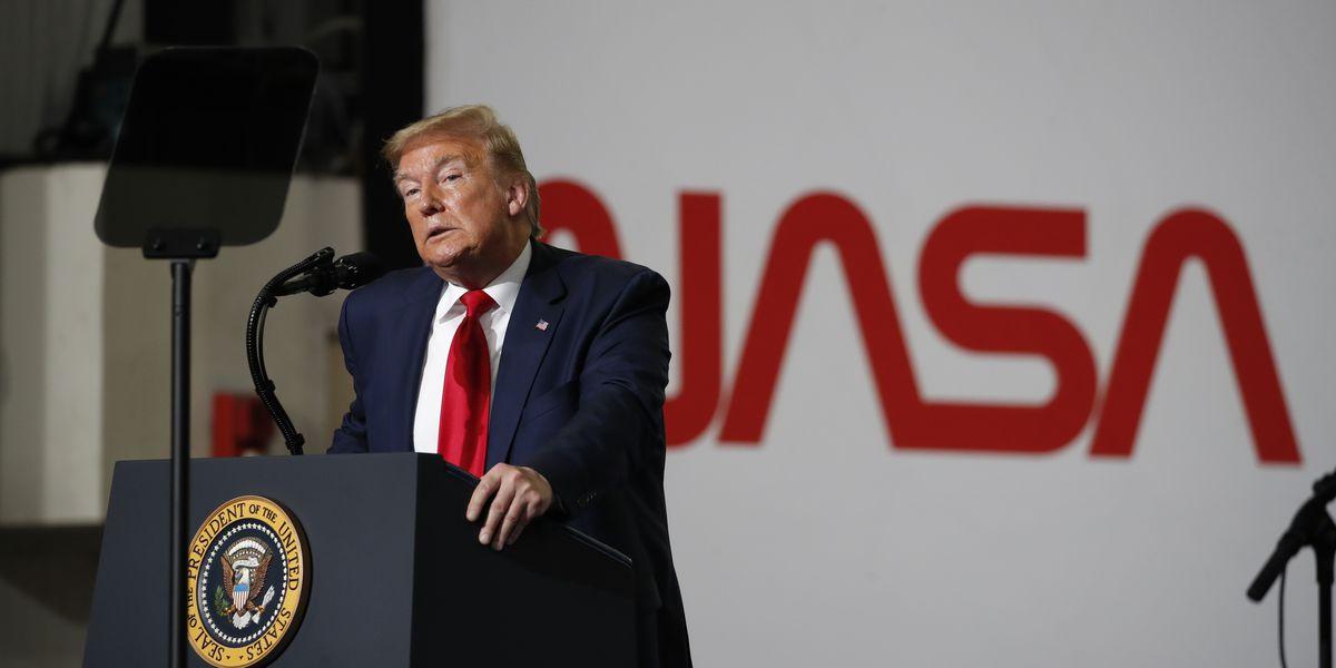 AP FACT CHECK: Trump claim of saving space program off base