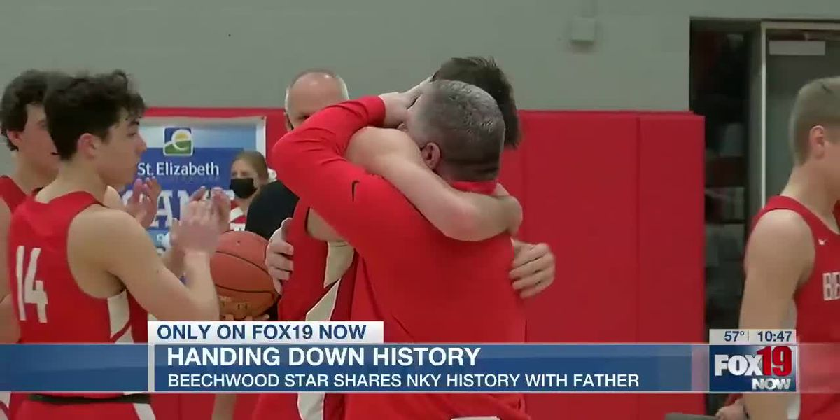 Handing down history: Beechwood star shares NKY history with father