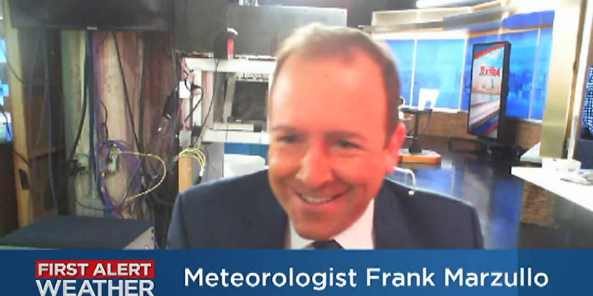 Frank's Monday Afternoon Forecast