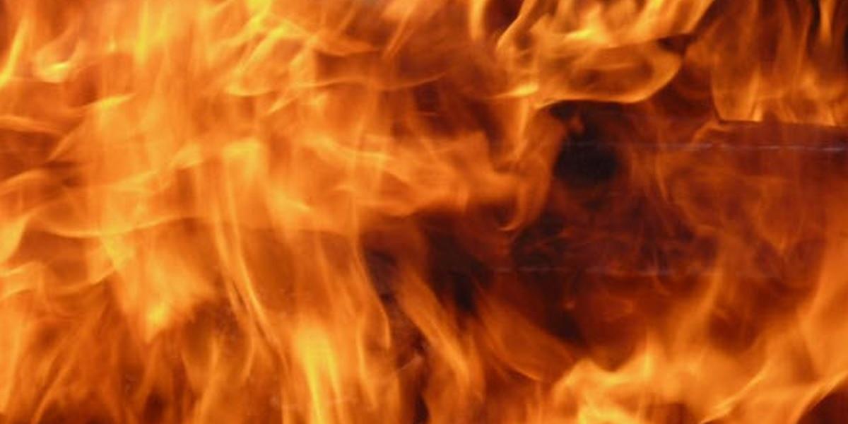 Break-in attempt goes up in flames
