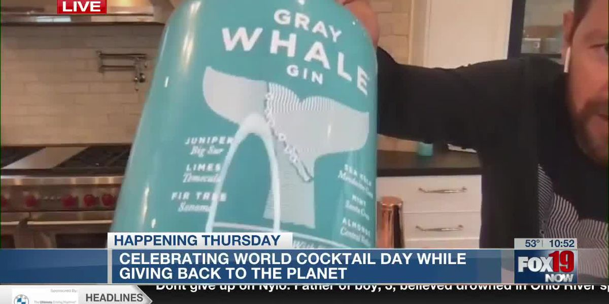 Whale Hello There - World Cocktail Day drink recipe