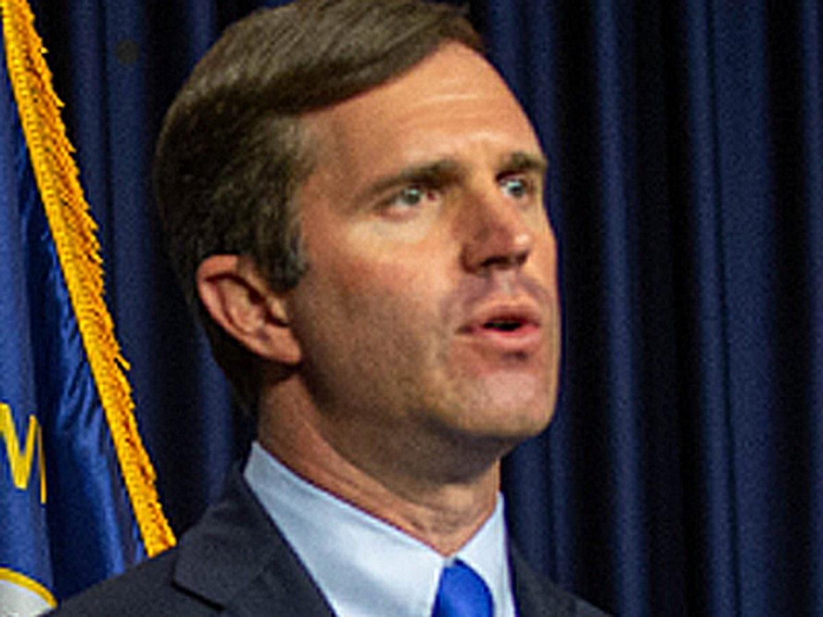 No firm benchmark for repealing health orders in Kentucky, Beshear says