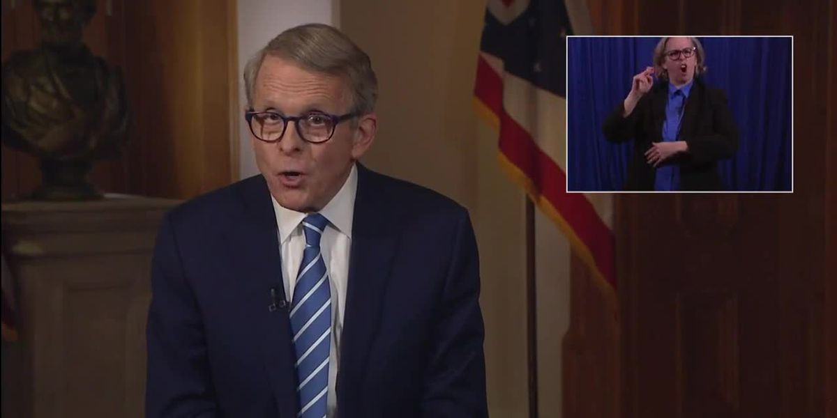 Gov. DeWine gives update on COVID-19 health orders