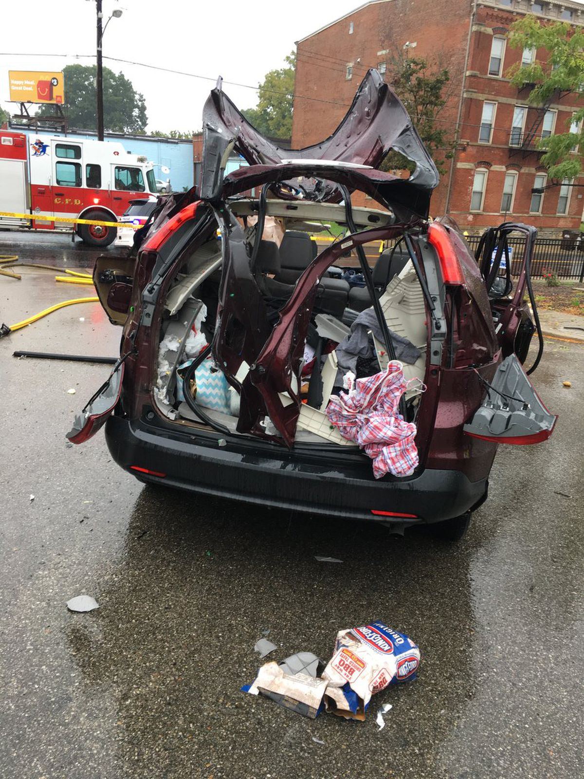 Woman Burned In Car Explosion: 'Took Me A Long Time To