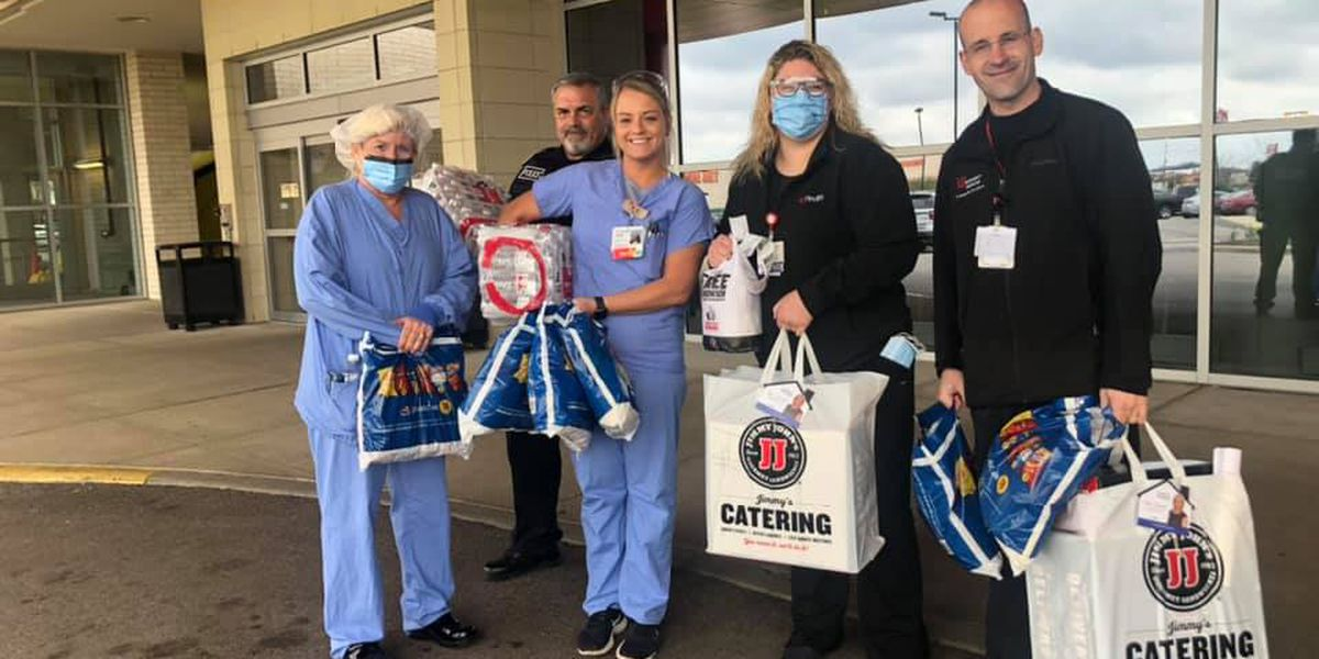 Tri-State group raises money to buy meals for front line healthcare workers