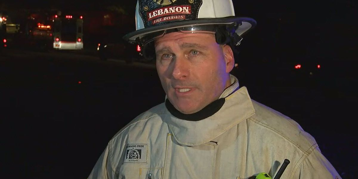 Lebanon fire chief disciplined for using fire trucks at birthday party