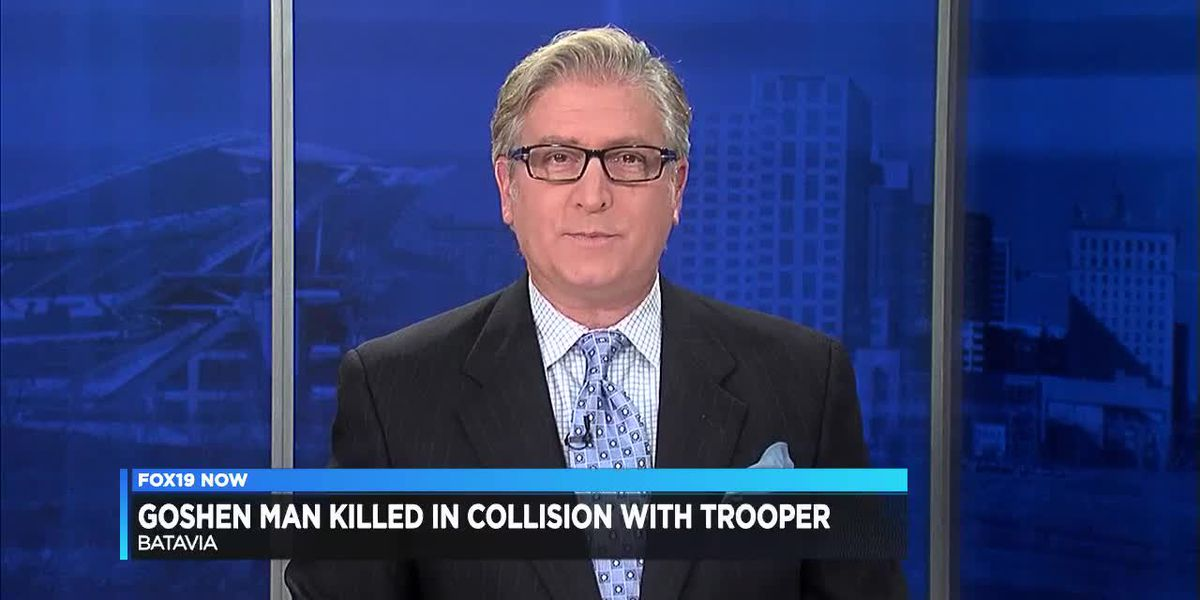 One person dead, trooper recovering after crash near Batavia