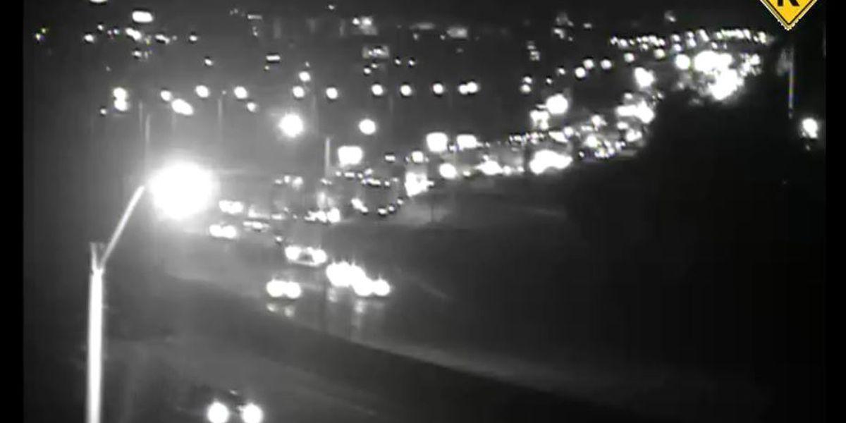 Multi-car accident on I-75