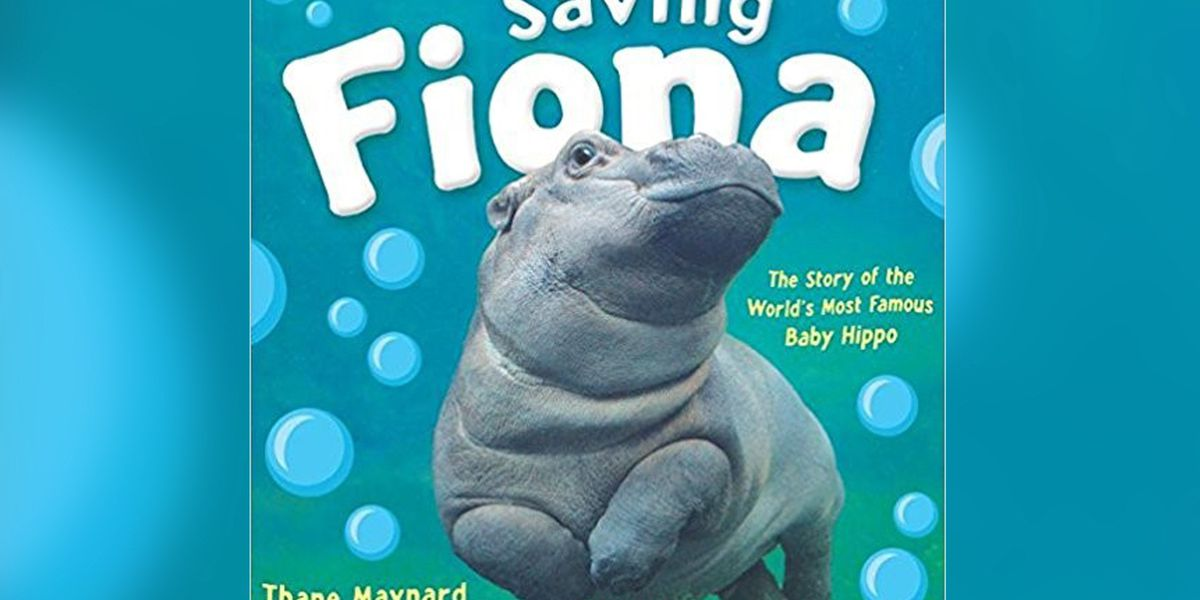 Baby Fiona book out on Tuesday, proceeds will go to zoo