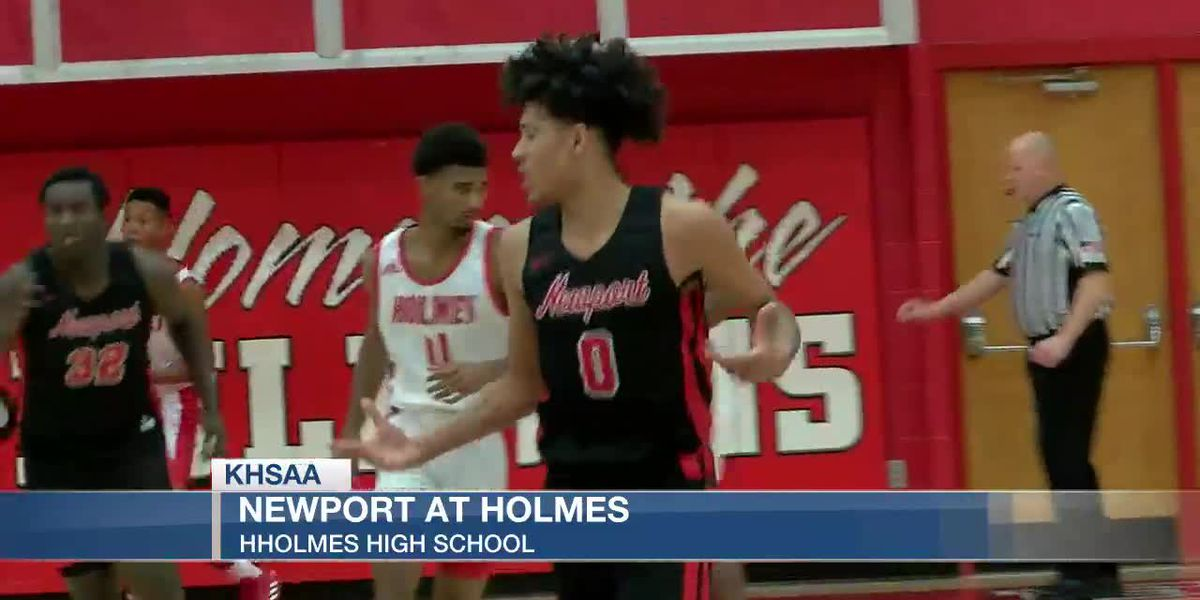 Newport beats Holmes in fantastic finish