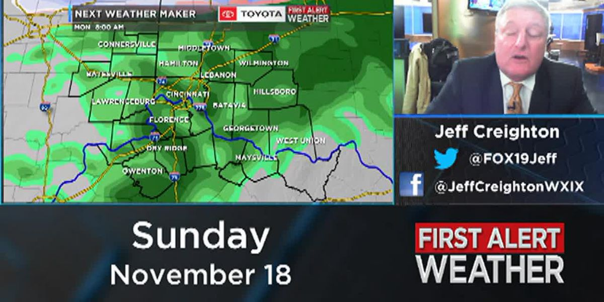 Jeff's Overnight Weather Update